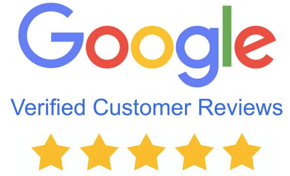 Verified 5-Star Google Review Ratings