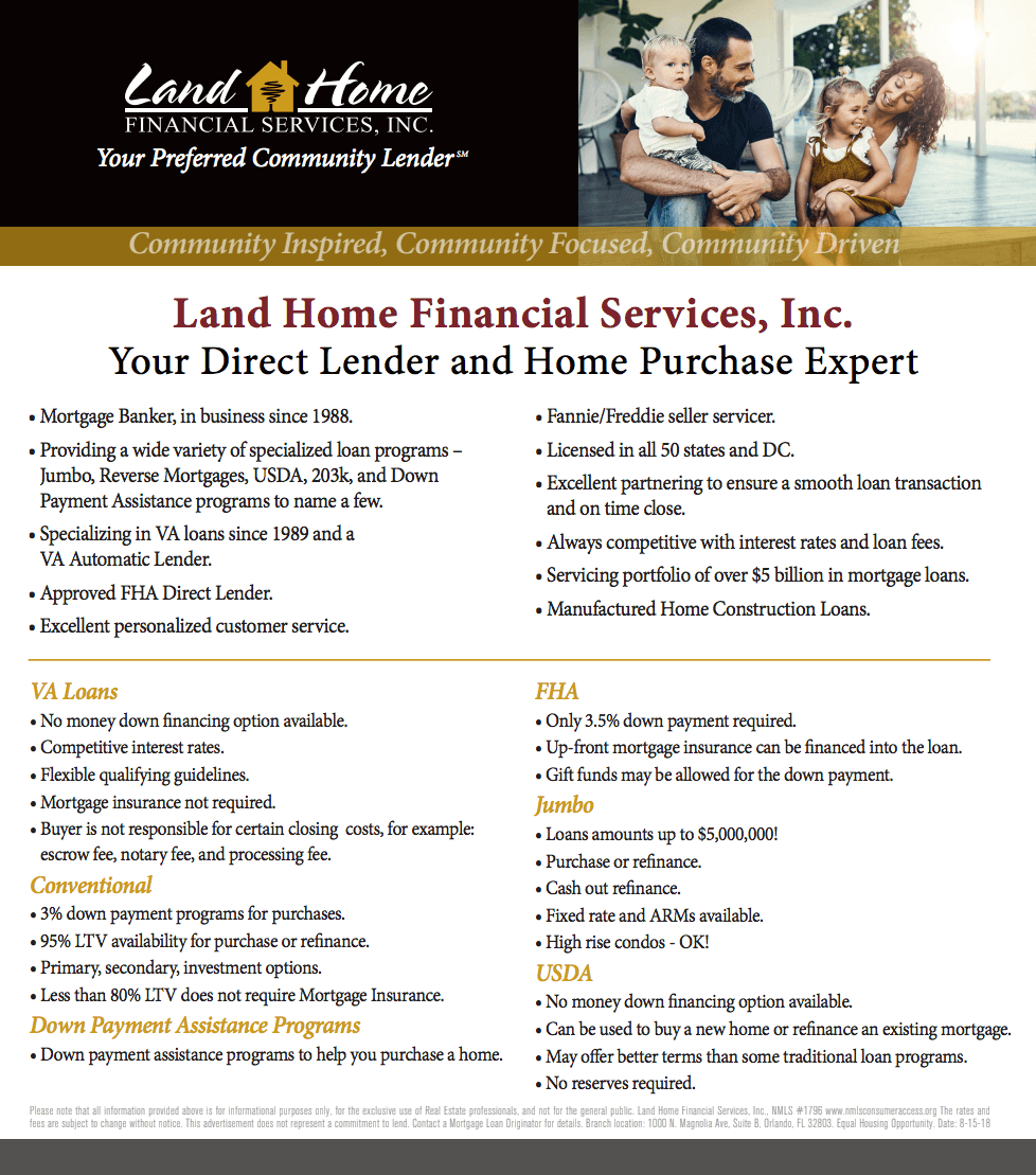 Land Home Financial - Get Qualified