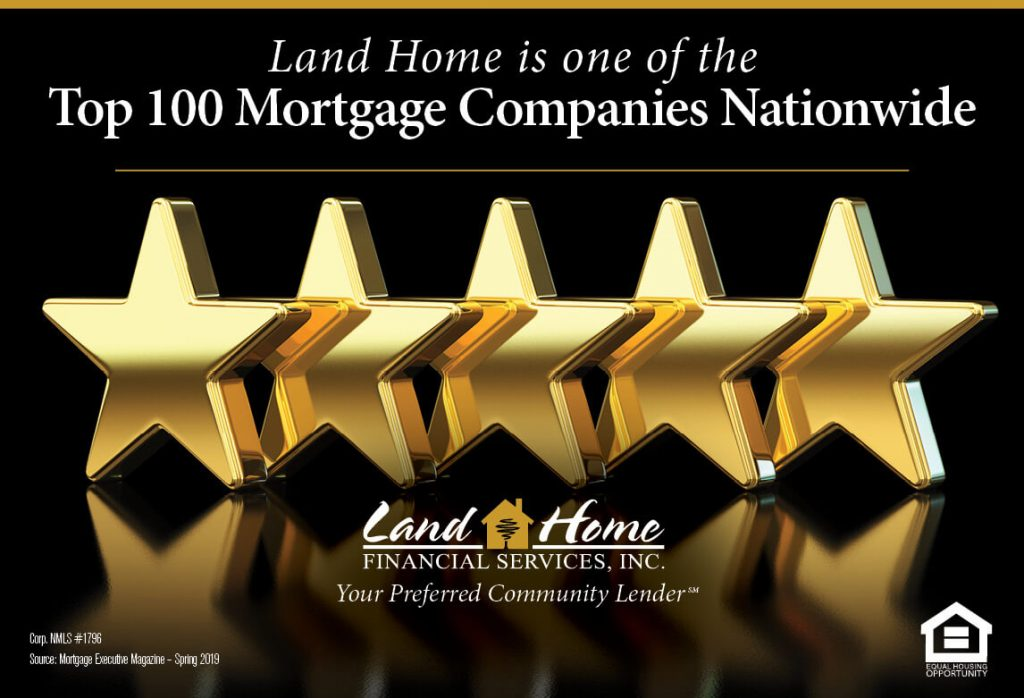 Voted Top 100 Mortgage Company Nationwide